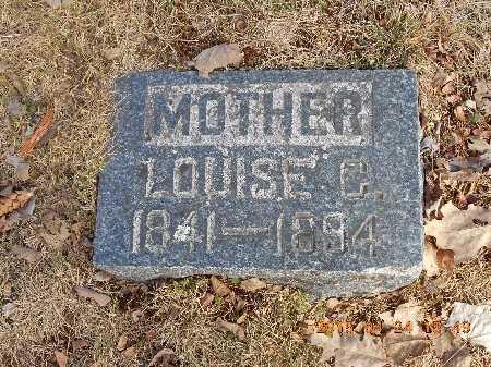 ANDERSON, LOUISE C. - Marquette County, Michigan | LOUISE C. ANDERSON - Michigan Gravestone Photos