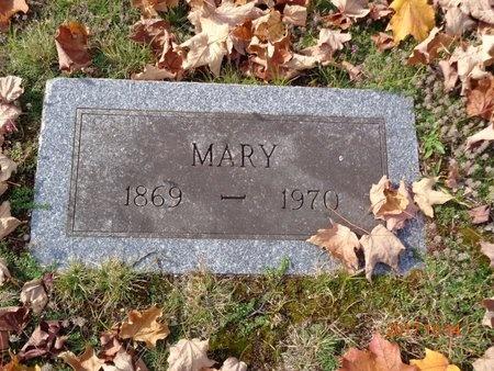 ANDERSON, MARY - Marquette County, Michigan | MARY ANDERSON - Michigan Gravestone Photos
