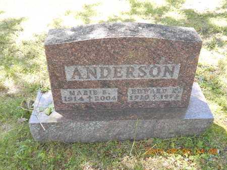 ANDERSON, EDWARD R. - Marquette County, Michigan | EDWARD R. ANDERSON - Michigan Gravestone Photos