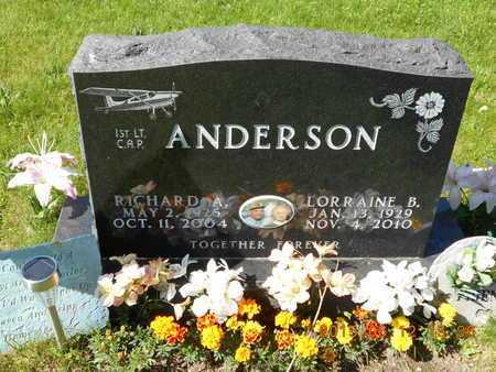 ANDERSON, RICHARD A. - Marquette County, Michigan | RICHARD A. ANDERSON - Michigan Gravestone Photos