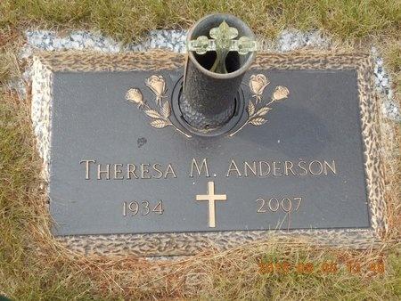 ANDERSON, THERESA M. - Marquette County, Michigan | THERESA M. ANDERSON - Michigan Gravestone Photos