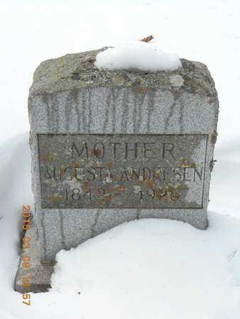 ANDRESEN, AUGUSTA - Marquette County, Michigan | AUGUSTA ANDRESEN - Michigan Gravestone Photos