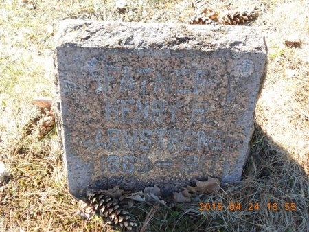 ARMSTRONG, HENRY H. - Marquette County, Michigan | HENRY H. ARMSTRONG - Michigan Gravestone Photos