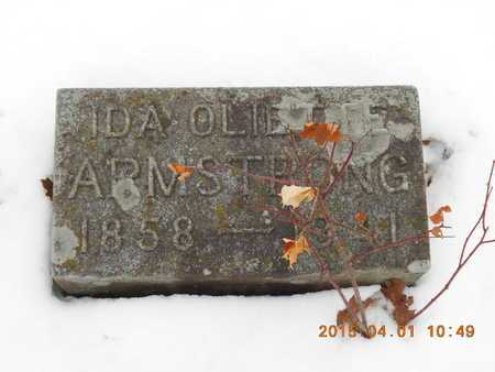 OLIETTE ARMSTRONG, IDA - Marquette County, Michigan   IDA OLIETTE ARMSTRONG - Michigan Gravestone Photos