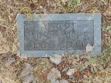 ARSENAULT, ALBERT - Marquette County, Michigan   ALBERT ARSENAULT - Michigan Gravestone Photos