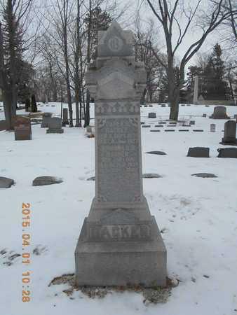 BACKER, FAMILY - Marquette County, Michigan | FAMILY BACKER - Michigan Gravestone Photos