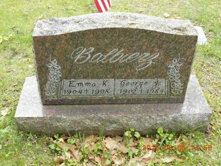BALBIERZ, GEORGE J. - Marquette County, Michigan | GEORGE J. BALBIERZ - Michigan Gravestone Photos
