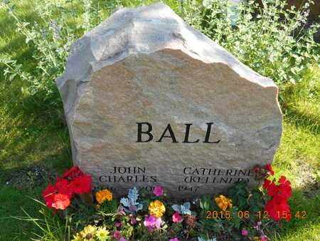 BALL, CATHERINE - Marquette County, Michigan | CATHERINE BALL - Michigan Gravestone Photos