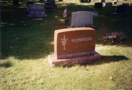GENTZ CONTOIS, BERTHA MATILDA - Marquette County, Michigan | BERTHA MATILDA GENTZ CONTOIS - Michigan Gravestone Photos