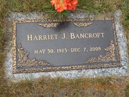 BANCROFT, HARRIET J. - Marquette County, Michigan | HARRIET J. BANCROFT - Michigan Gravestone Photos