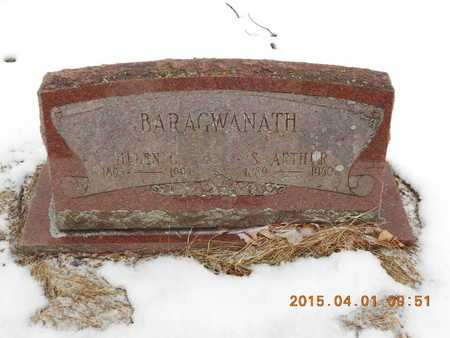 BARAGWANATH, S. ARTHUR - Marquette County, Michigan   S. ARTHUR BARAGWANATH - Michigan Gravestone Photos