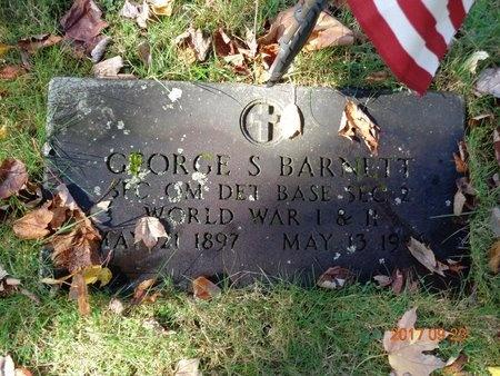 BARNETT, GEORGE S. - Marquette County, Michigan | GEORGE S. BARNETT - Michigan Gravestone Photos