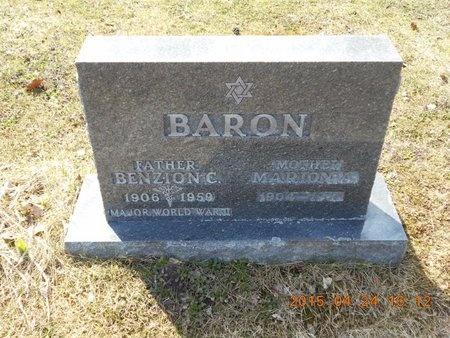 BARON, MARION A. - Marquette County, Michigan | MARION A. BARON - Michigan Gravestone Photos