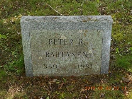 BARTANEN, PETER R. - Marquette County, Michigan   PETER R. BARTANEN - Michigan Gravestone Photos
