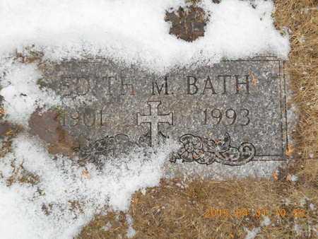BATH, EDITH M. - Marquette County, Michigan | EDITH M. BATH - Michigan Gravestone Photos
