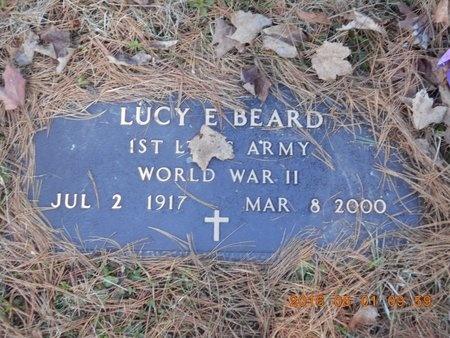 BEARD, LUCY E. - Marquette County, Michigan | LUCY E. BEARD - Michigan Gravestone Photos