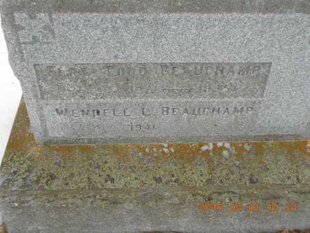 BEAUCHAMP, ELRY - Marquette County, Michigan | ELRY BEAUCHAMP - Michigan Gravestone Photos