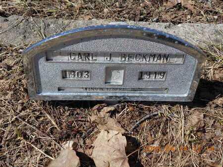 BECKMAN, CARL J. - Marquette County, Michigan | CARL J. BECKMAN - Michigan Gravestone Photos