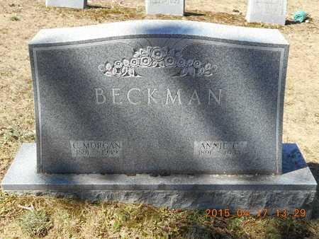 BECKMAN, ANNIE C. - Marquette County, Michigan | ANNIE C. BECKMAN - Michigan Gravestone Photos