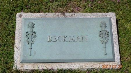 BECKMAN, FAMILY - Marquette County, Michigan | FAMILY BECKMAN - Michigan Gravestone Photos