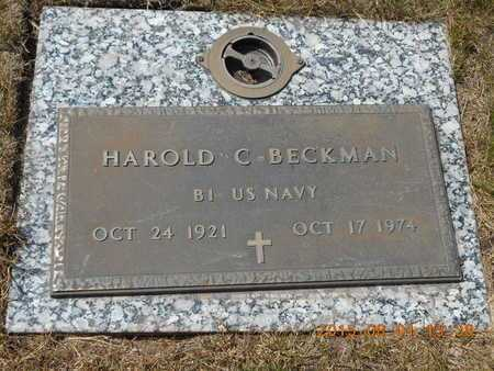 BECKMAN, HAROLD C. - Marquette County, Michigan | HAROLD C. BECKMAN - Michigan Gravestone Photos