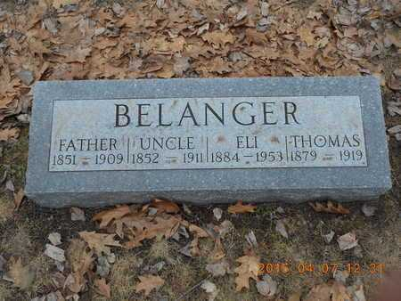 BELANGER, ELI - Marquette County, Michigan | ELI BELANGER - Michigan Gravestone Photos