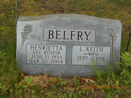 BELFRY, HENRIETTA - Marquette County, Michigan | HENRIETTA BELFRY - Michigan Gravestone Photos