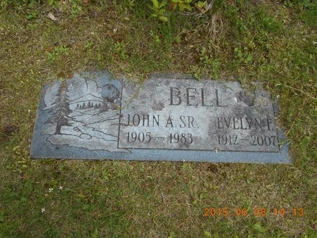 BELL, SR., JOHN A. - Marquette County, Michigan | JOHN A. BELL, SR. - Michigan Gravestone Photos