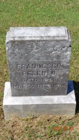 BELLUSO, FRANCESCO - Marquette County, Michigan | FRANCESCO BELLUSO - Michigan Gravestone Photos