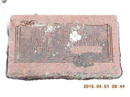 BEMIS, JANES S. - Marquette County, Michigan | JANES S. BEMIS - Michigan Gravestone Photos