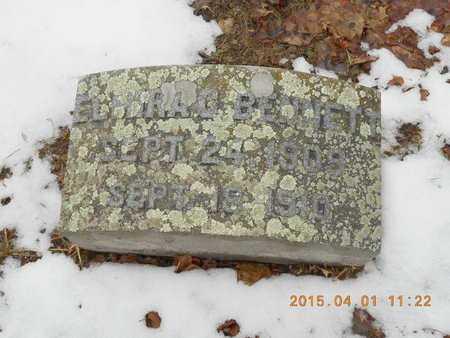 BENNETT, ELMIRA CATHERINE - Marquette County, Michigan | ELMIRA CATHERINE BENNETT - Michigan Gravestone Photos