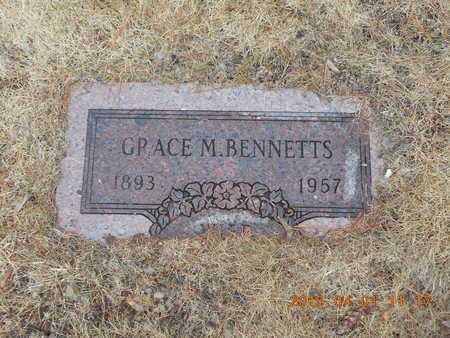 BENNETTS, GRACE M. - Marquette County, Michigan   GRACE M. BENNETTS - Michigan Gravestone Photos