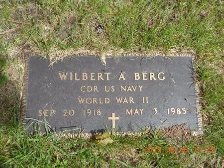 BERG, WILBERT A. - Marquette County, Michigan   WILBERT A. BERG - Michigan Gravestone Photos
