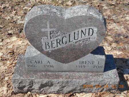 BERGLUND, CARL AUGUST - Marquette County, Michigan | CARL AUGUST BERGLUND - Michigan Gravestone Photos