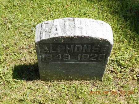 BERTRAND, ALPHONSE - Marquette County, Michigan | ALPHONSE BERTRAND - Michigan Gravestone Photos