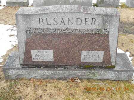 BESANDER, LYDIA L. - Marquette County, Michigan | LYDIA L. BESANDER - Michigan Gravestone Photos