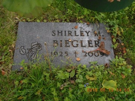 BIEGLER, SHIRLEY M. - Marquette County, Michigan | SHIRLEY M. BIEGLER - Michigan Gravestone Photos