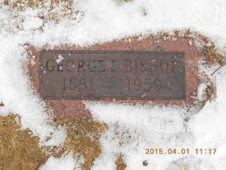 BISHOP, GEORGE E. - Marquette County, Michigan | GEORGE E. BISHOP - Michigan Gravestone Photos