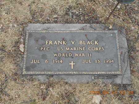 BLACK, FRANK V. - Marquette County, Michigan | FRANK V. BLACK - Michigan Gravestone Photos
