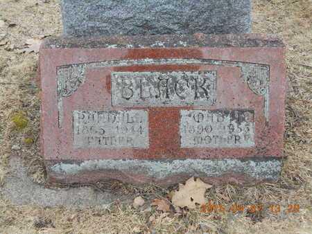 BLACK, MABEL - Marquette County, Michigan   MABEL BLACK - Michigan Gravestone Photos