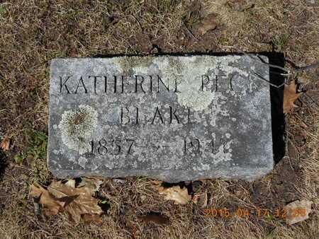 BLAKE, KATHERINE - Marquette County, Michigan | KATHERINE BLAKE - Michigan Gravestone Photos