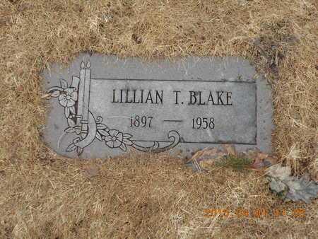 BLAKE, LILLIAN T. - Marquette County, Michigan   LILLIAN T. BLAKE - Michigan Gravestone Photos