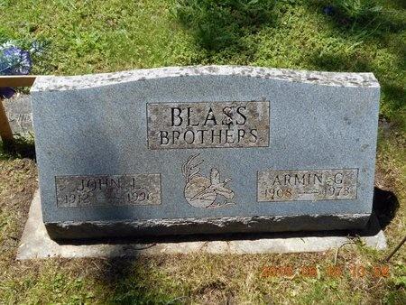 BLASS, ARMIN G. - Marquette County, Michigan | ARMIN G. BLASS - Michigan Gravestone Photos