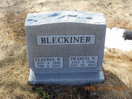 BLECKINER, FRANCIS V. - Marquette County, Michigan | FRANCIS V. BLECKINER - Michigan Gravestone Photos