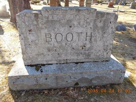 BOOTH, MARK - Marquette County, Michigan | MARK BOOTH - Michigan Gravestone Photos
