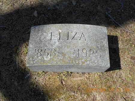 BOSWORTH, ELIZA - Marquette County, Michigan | ELIZA BOSWORTH - Michigan Gravestone Photos