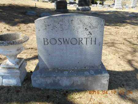 BOSWORTH, FAMILY - Marquette County, Michigan | FAMILY BOSWORTH - Michigan Gravestone Photos