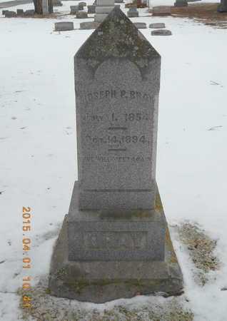 BRAY, JOSEPH P. - Marquette County, Michigan   JOSEPH P. BRAY - Michigan Gravestone Photos
