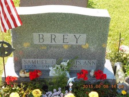 BREY, DORIS ANN - Marquette County, Michigan | DORIS ANN BREY - Michigan Gravestone Photos