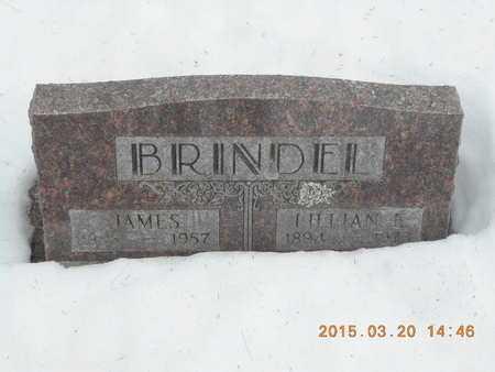 BRINDEL, JAMES - Marquette County, Michigan | JAMES BRINDEL - Michigan Gravestone Photos